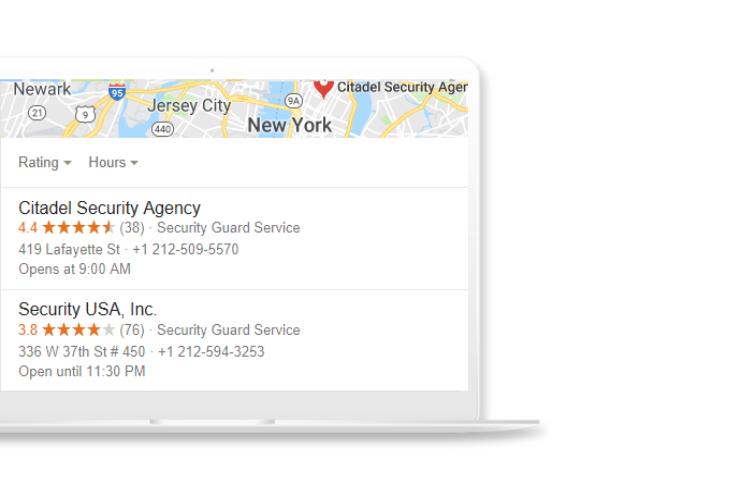 Local SEO for Security Agencies citations